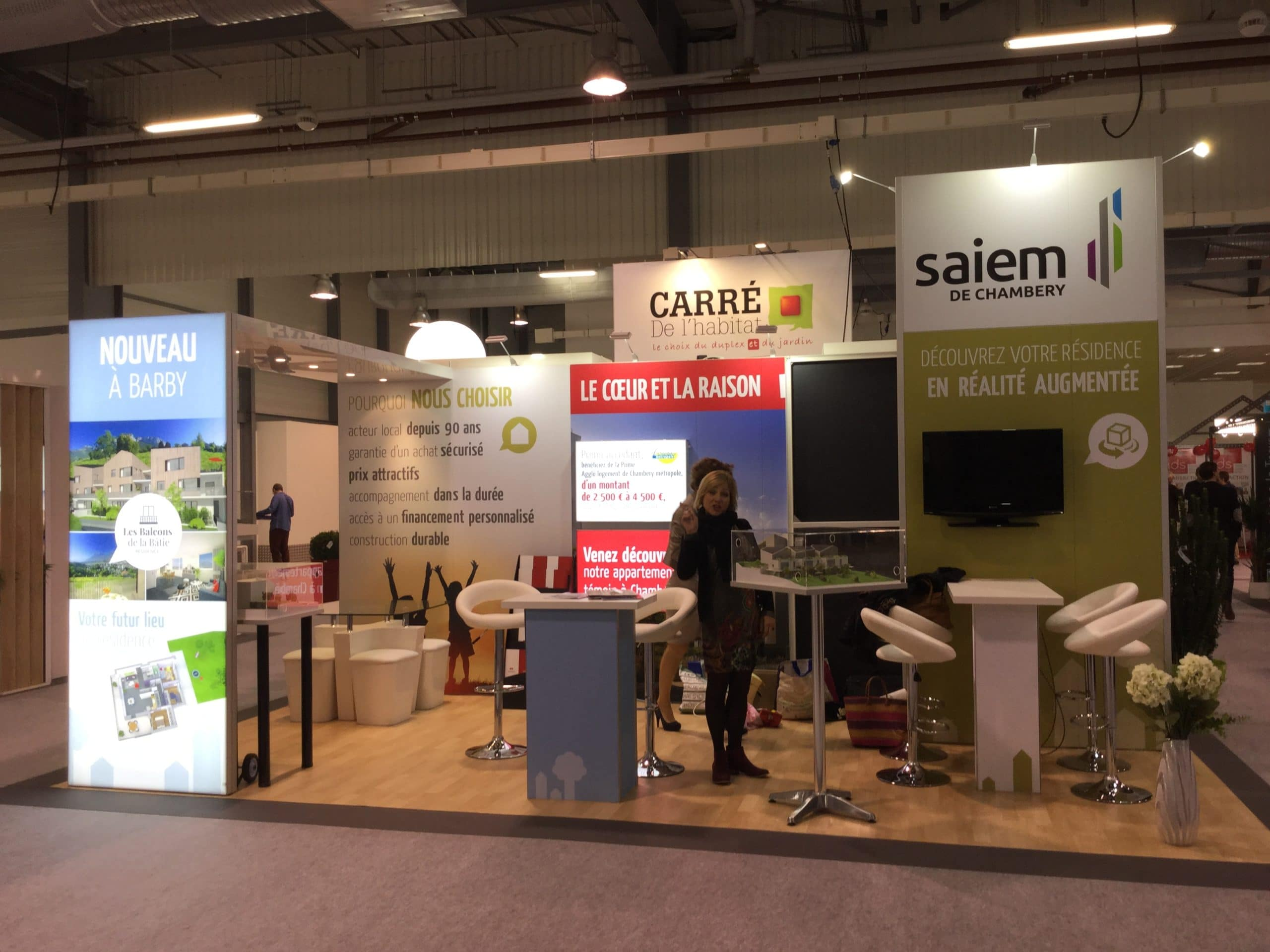 Saiem de chamb ry for Salon immobilier chambery