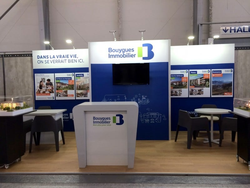 stand modulaire tissu 12m2-bouygues immobilier roche sur foron 2016