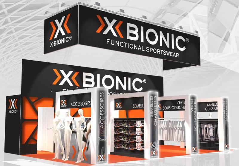 stand menuisé tissu xbionic 2016