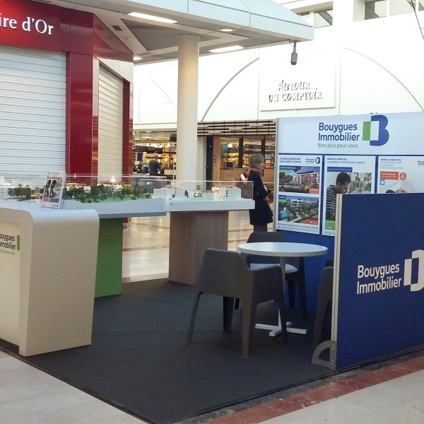 stand modulaire tissu bouygues immobilier ecully 2016 accueil