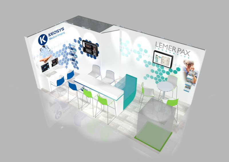 stand-modulable tissu 12m2 keosys 2016